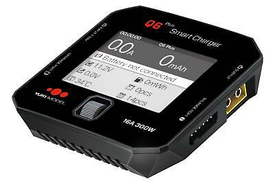 Ladegerät iSDT SMART CHARGER Q6 Plus ohne Netzteil max 300 W 16A LCD Farbdisplay