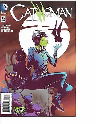 Catwoman #45 WB Monsters Variant DC NM 2015
