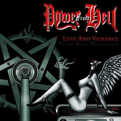 Power from Hell - Lust And Violence CD Black Thrash Metal Venom
