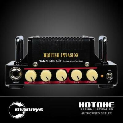 Hotone Nano British Invasion 5W Classic AB Amp Head