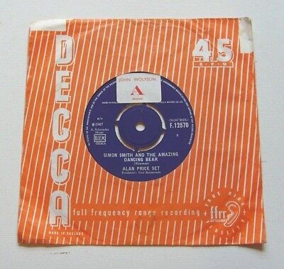 Alan Price Set - Simon Smith And The Amazing Dancing Bear - 1967 DECCA (VG+)