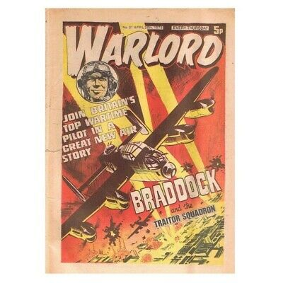 Warlord Comic April 26 1975 MBox2838 No.31 Braddock and the traitor squadron