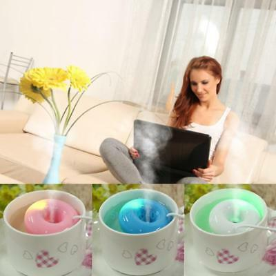 Home Office Mini USB Donuts Humidifier Floats On The Water Air Fresher Hot