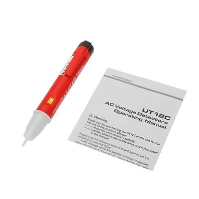 UNI-T UT12C VOLTAGE DETECTOR TEST PEN with TRIPLE INDICATIONS TOUCH,VISION,HEAR