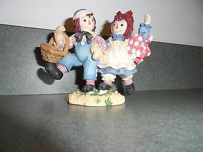 Raggedy Ann & Andy How nice to have such a happy sunny friend enseco # figurine