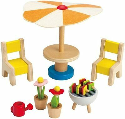 New Hape Doll Furniture - Patio Set Childrens Toy