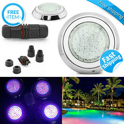 LED Swimming Pool Light Underwater SPA 15W IP68 RGB 7 Colors with Remote Control