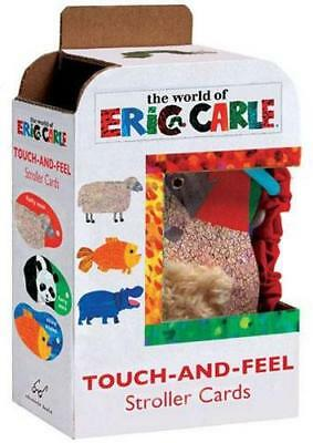 NEW Touch-and-Feel Stroller Cards By Eric Carle Card or Card Deck Free Shipping