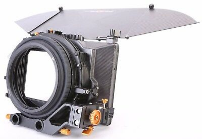 Bright Tangerine Viv Compact Mattebox For Any Camera. Free Shipping.