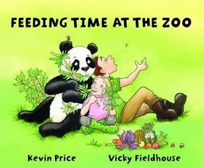 NEW Feeding Time at the Zoo By Kevin Price Paperback Free Shipping