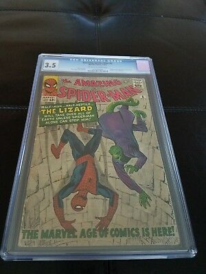 The Amazing Spider-Man #6 (Nov 1963) CGC 1st Lizard