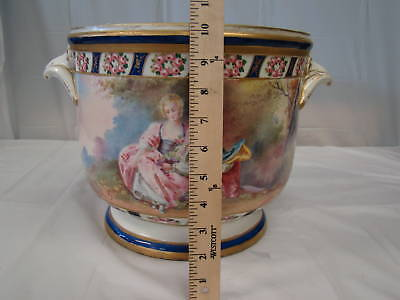 Beautiful Large 19th Century Antique Sevres Planter