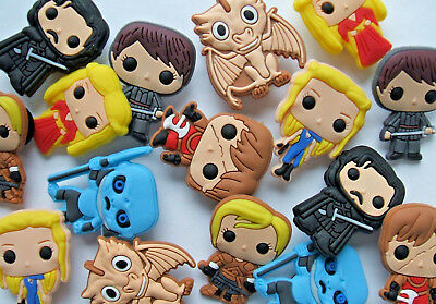 SHOE CHARMS (Q7) - inspired by GAME OF THRONES