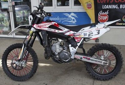 2012 Wr250 Husqvarna Fantastic Cond Includes Extra Road + Off Road Tyres + More