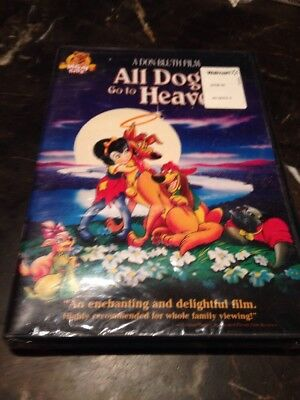 All Dogs Go to Heaven (DVD) Brand New Sealed 🤐