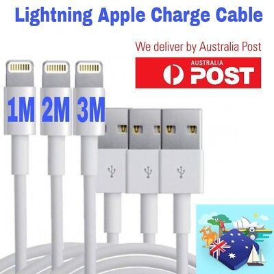HQ Apple Lightning Data Cable Charger for iPhone 7 7 Plus 6 5S 5C 6 iPad