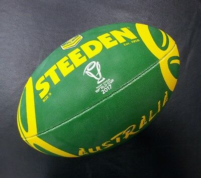 Steeden Australian Kangaroos Rugby League World Cup 2017 Supporter Ball NRL *NEW