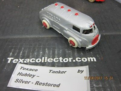 Texaco Tanker by Hubley – Silver - Restored