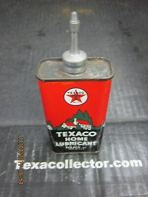 Texaco Home Lubricant Can Lot 911