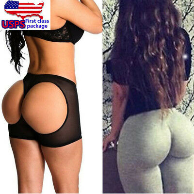 Womens Butt Lifter Panties Shapewear Shorts Booty Enhancer Push Up Booster Panty