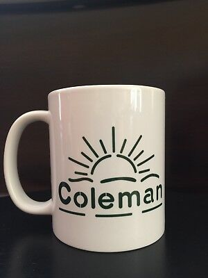 Coleman Lantern Sunrise with Pyrex Logo Coffee Mug