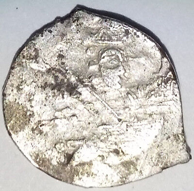 Medieval Russian Silver Empire Coin Ivan IV The Terrible 1533-1584  ~Kopek~