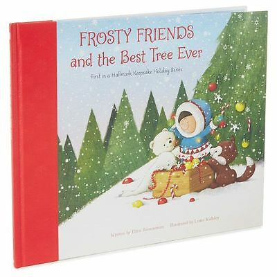 HALLMARK BOOK ~ FROSTY FRIENDS and BEST TREE EVER:  1 st series   * NEW *  HTF