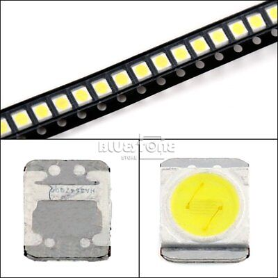 Electronic Components & Supplies 100-200pcs Original For Lg Led Lcd Tv Backlight Lens Beads 1w 3v 3528 2835 Lamp Beads Cold Cool White Light