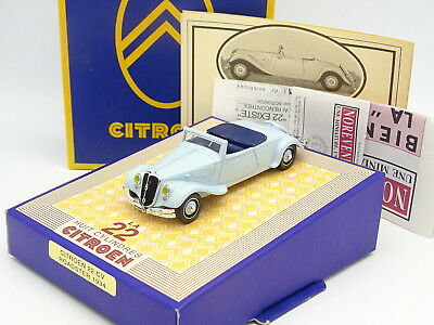 Norev Frankreich 1/43 - Citroen Traction 22CV Roadster 1934 Blau