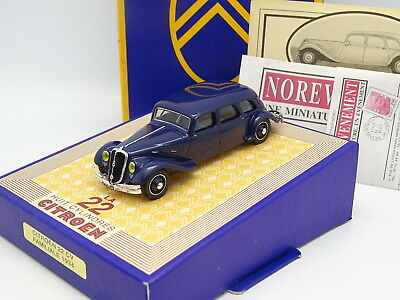 Norev Frankreich 1/43 - Citroen Traction 22CV Break 1934 Blau