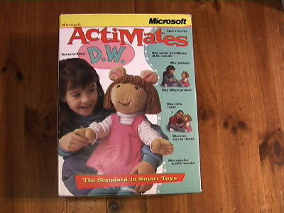 "MICROSOFT ActiMates 1.0 D.W (boxed, from 1998)-from ""Arthur"" TV Series - works!!"