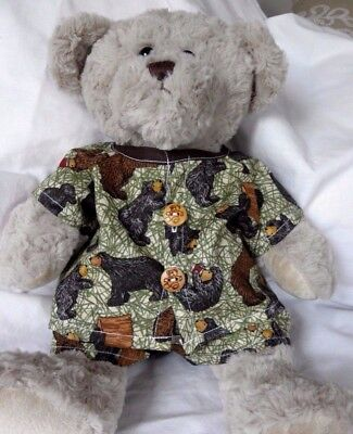 Print pjs to fit Pumpkin Patch teddy bear boys 15 inch Build a bear clothes