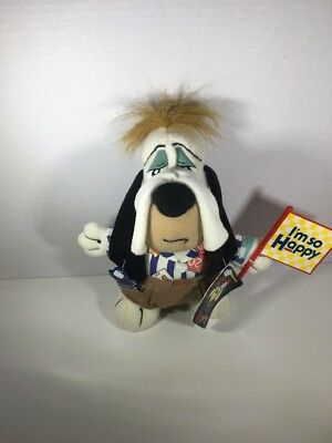 Droopy Dog Plush Applause With all tags and flag intact New old stock 1990 MGM