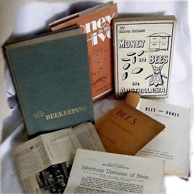 Apiculture .. BeeKeeping ..  Tarlton Rayment .. books + articles bees honey hive