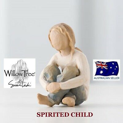 SPIRITED CHILD Demdaco Willow Tree Figurine By Susan Lordi BRAND NEW IN BOX