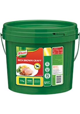 Knorr Rich Brown Gravy Mix 7.5Kg - Made Using Real Aussie Beef - Free Post