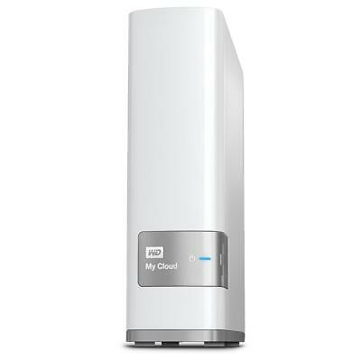 WD My Cloud 8TB USB 3.0 LAN Desktop Cloud Storage Hard Drive NAS WDBCTL0080HWT