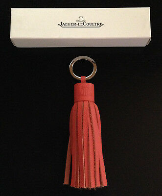 Jaeger-LeCoultre Schlüsselanhänger Leder, orange! Key ring orange leather! New!!