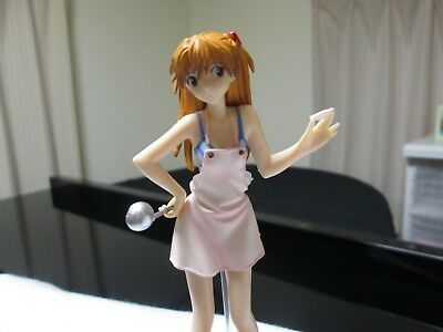 Evangelion Japan Anime Shikinami Asuka Langley Figure Cooking Version