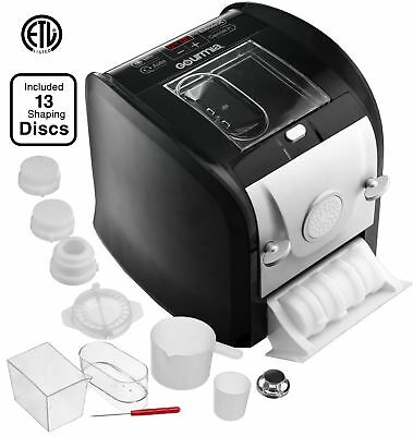 Gourmia GPM630 One Touch Automatic Pasta Maker - Mixes Kneads & Extrudes -13 ...