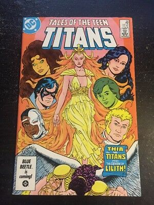 Tales Of Teen Titans#66 Incredible Condition 9.0(1986) Lilith Origin!!