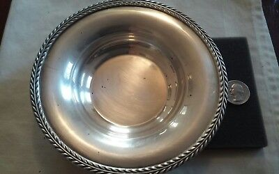 Vintage Poole Silver Plate EPNS 6003 American Candy Dish