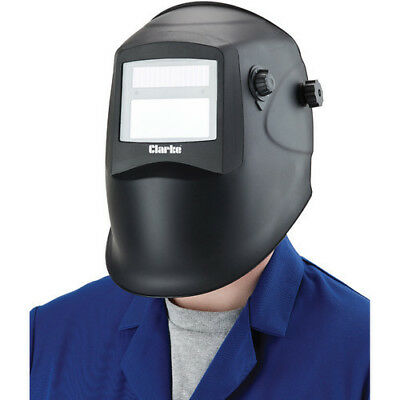 Clarke GWH1 Grinding/Arc Activated Solar Powered Welding Headshield