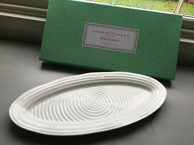 Sophie Conran Portmeirion Fish Platter Large White New Boxed