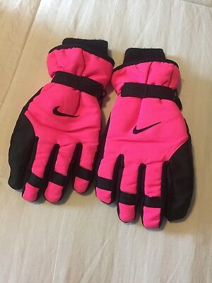 Youth Nike Winter Snow Gloves Girls  Hyper Pink Size 7/16