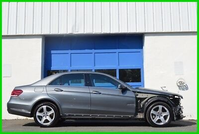 2016 Mercedes-Benz E-Class E 250 BlueTEC® 4MATIC® Repairable Rebuildable Salvage Lot Drives Great Project Builder Fixer Easy Fix