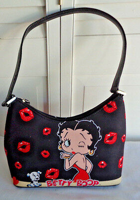 BETTY BOOP Handbag  Licensed King Features Syndicate -Lips, and Rhinstones