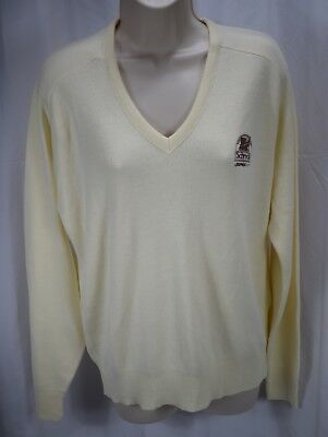 8e1599a164 Vintage Pine State Men s Schrock A Tappon Division Sweater Size Medium A-15  137