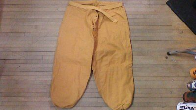 vintage 1950s wilson football pants very rare super thick usa made canvas