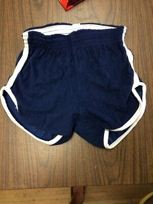 Vintage 70s Men's French And Terry Short Size Small USA Made